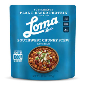 Southwest Chunky Stew with Rice by Loma Linda Blue LARGE