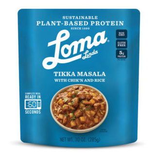 Chik'n Tikka Masala with Rice by Loma Linda Blue MAIN