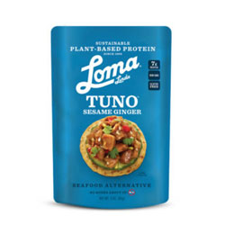 Sesame Ginger Fishless Tuna by Loma Linda Blue THUMBNAIL