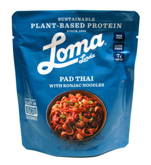 Spicy Pad Thai with Konjac Noodles by Loma Linda Blue LARGE