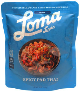 Spicy Pad Thai by Loma Linda Blue