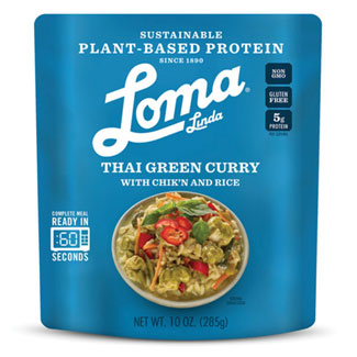 Thai Green Curry with Chik'n and Rice by Loma Linda MAIN
