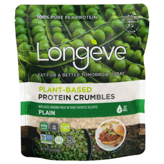Longeve Plant-Based Protein Crumbles - 6 oz. package MAIN