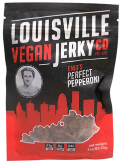 Enid's Perfect Pepperoni Vegan Jerky by Louisville Vegan Jerky Co._LARGE