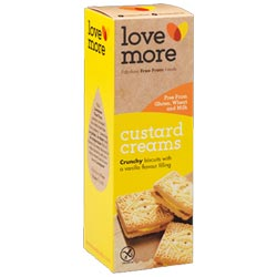 Custard Creams Sandwich Cookies by Love More Foods THUMBNAIL