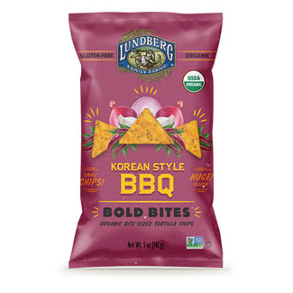 Korean Style BBQ Tortilla Chips by Lundberg MAIN