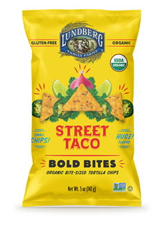Organic Street Taco Bold Bites Tortilla Chips by Lundberg_LARGE