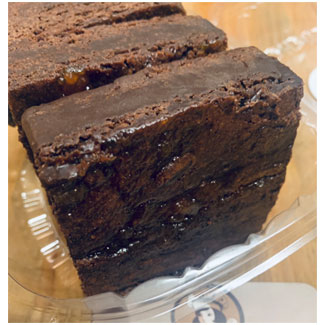 Sea Salt Caramel Brownie 3-Pack by Mindful Baking MAIN