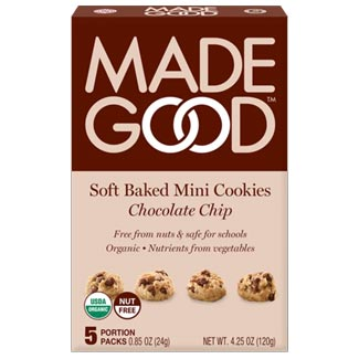 Made Good Organic Soft Baked Mini Cookies - Chocolate Chip MAIN