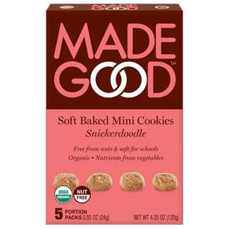 Made Good Organic Soft Baked Mini Cookies - Snickerdoodle MAIN