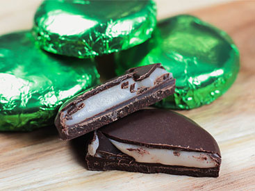 Mama Ganache Organic Chocolate Peppermint Patties
