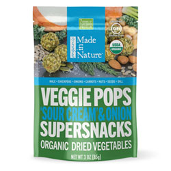 Made in Nature Organic Sour Cream & Onion Veggie Pops THUMBNAIL