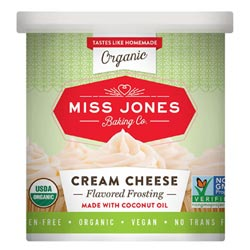 Miss Jones Organic Cream Cheese Flavored Frosting THUMBNAIL