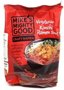 Mike's Mighty Good Vegan Kimchi Craft Ramen Soup LARGE