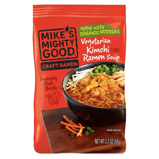 Mike's Mighty Good Kimchi Craft Ramen Soup MAIN