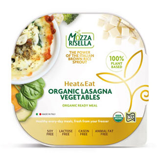 Mozzarisella Organic Lasagna with Vegetables LARGE
