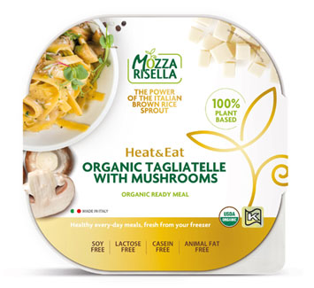 Mozzarisella Organic Tagliatelle with Mushrooms LARGE