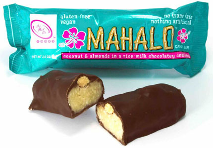 Mahalo Vegan Candy Bar by Go Max Go