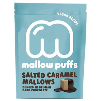 Salted Caramel Mallow Puffs Chocolate Covered Marshmallows LARGE