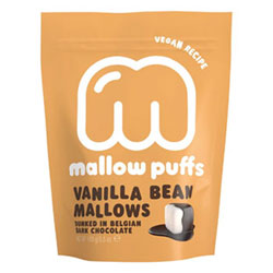 Vanilla Bean Mallow Puffs Chocolate Covered Marshmallows THUMBNAIL
