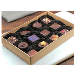 Mama Ganache Organic Truffle Assortment - 12 piece box THUMBNAIL