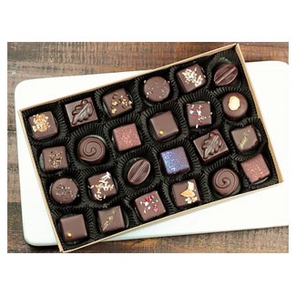 Mama Ganache Organic Truffle Assortment - 24 piece box MAIN