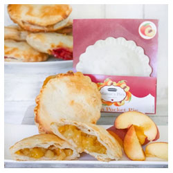 Peach Pocket Pie by Mamie's Pies THUMBNAIL