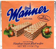 Hazelnut Cream Filled Wafers by Manner