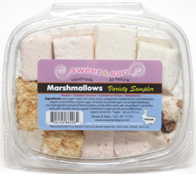 Vegan Marshmallow Sampler by Sweet & Sara