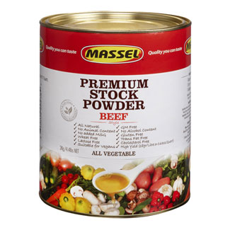4.4 lb. Bouillon Powder by Massel - Beef Style MAIN