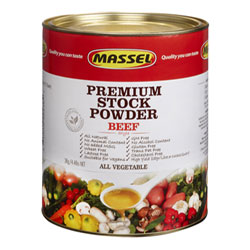4.4 lb. Bouillon Powder by Massel - Beef Style THUMBNAIL