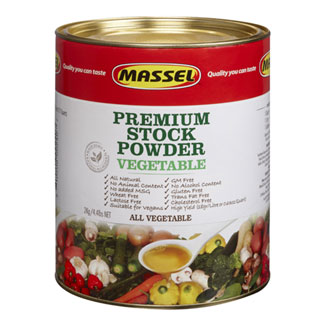 4.4 lb. Bouillon Powder by Massel - Vegetable MAIN