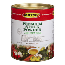4.4 lb. Bouillon Powder by Massel - Vegetable THUMBNAIL