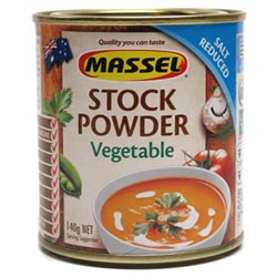 Salt Reduced Stock Powder by Massel - Vegetable THUMBNAIL
