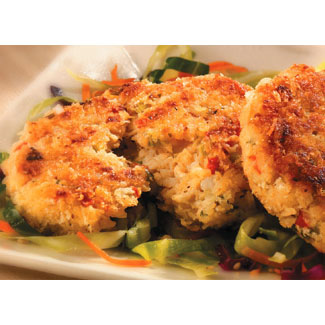 Vegan New England Style Crab Cakes by Match Meat LARGE