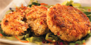 Vegan New England Style Crab Cakes by Match Meat