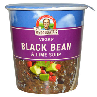 Black Bean & Lime Soup Cup by Dr. McDougall's MAIN