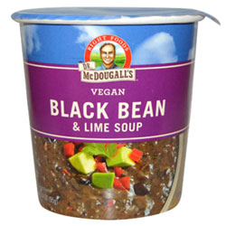 Black Bean & Lime Soup Cup by Dr. McDougall's THUMBNAIL