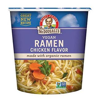 Vegan Chicken Flavor Ramen Cups by Dr. McDougall's MAIN