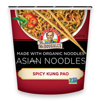 Spicy Kung Pao Asian Noodle Cups by Dr. McDougall's MAIN