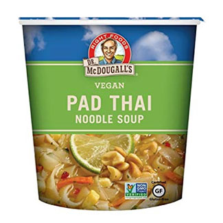 Pad Thai Noodle Soup Cup by Dr. McDougall's MAIN