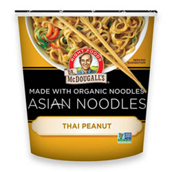 Thai Peanut Asian Noodle Cups by Dr. McDougall's THUMBNAIL