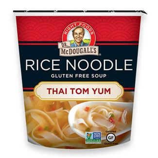 Thai Tom Yum Rice Noodle Soup Cup by Dr. McDougall's MAIN