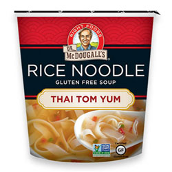 Thai Tom Yum Rice Noodle Soup Cup by Dr. McDougall's THUMBNAIL