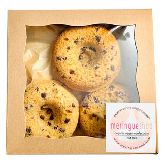 Chocolate Chip Cake Donuts by Meringueshop MAIN