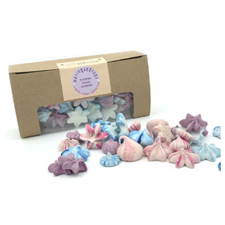 Organic Meringue Drops by Meringueshop - Fleurs Delices Mix MAIN