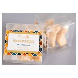 Meska Sweets Moroccan Almond Crescent Cookies THUMBNAIL