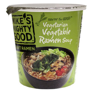 Mike's Mighty Good Vegetarian Vegetable Ramen Soup Cups MAIN