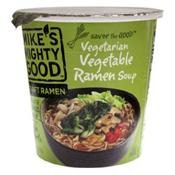 Mike's Mighty Good Vegetarian Vegetable Ramen Soup Cups THUMBNAIL
