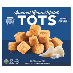 Rollin Greens Organic Millet Tots - Onion & Sea Salt THUMBNAIL